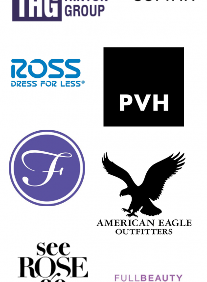 Spring 2021 Virtual Career Fair logos
