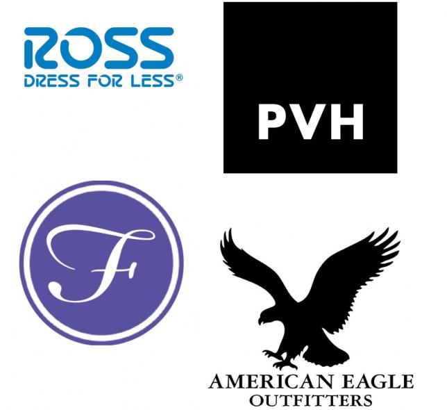 Spring 2021 Virtual Career Fair logos