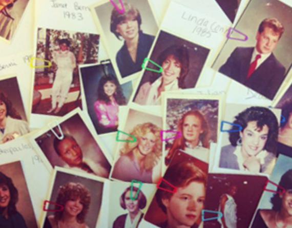 collage of photo prints